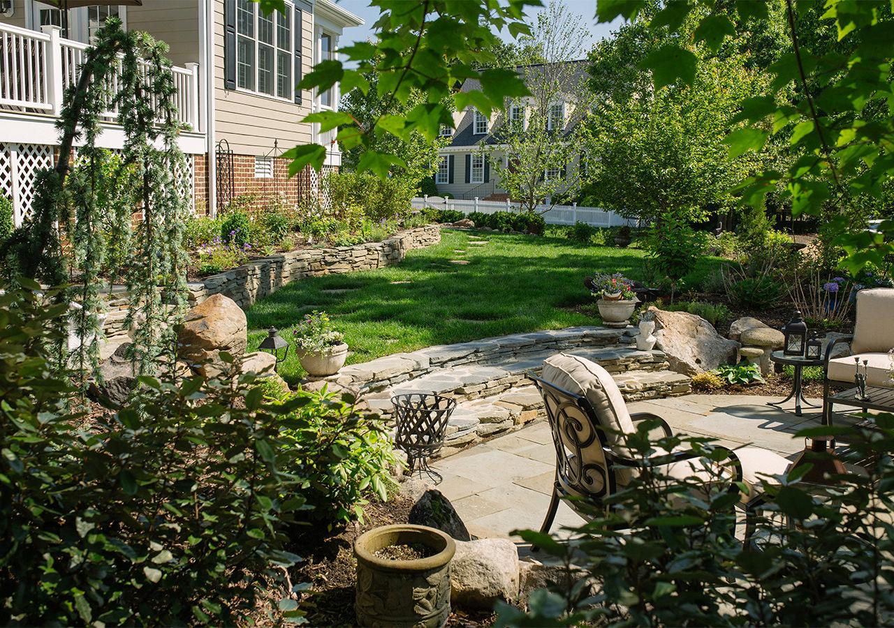 landscape design williamsburg va trust custom gardens with your yard
